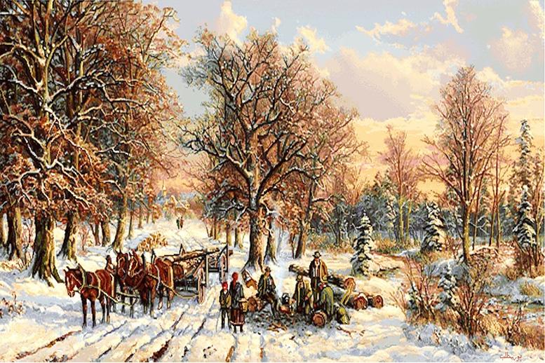 عکس نخ و نقشه طرح مسافرت زمستان
