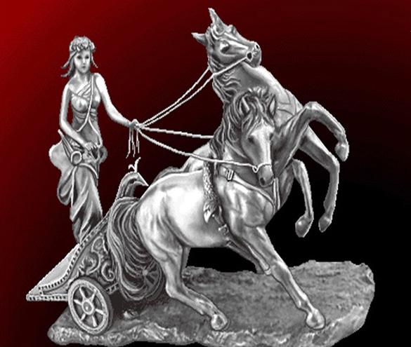 نخ و نقشه تابلو فرش اماده بافت تندیس اسب سواری
