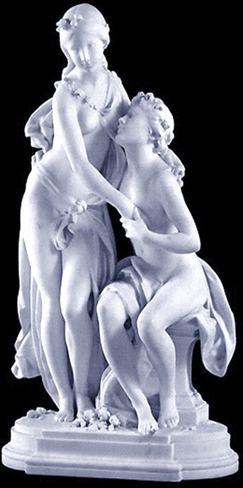 نخ و نقشه تابلو فرش تندیس محبت و عشق