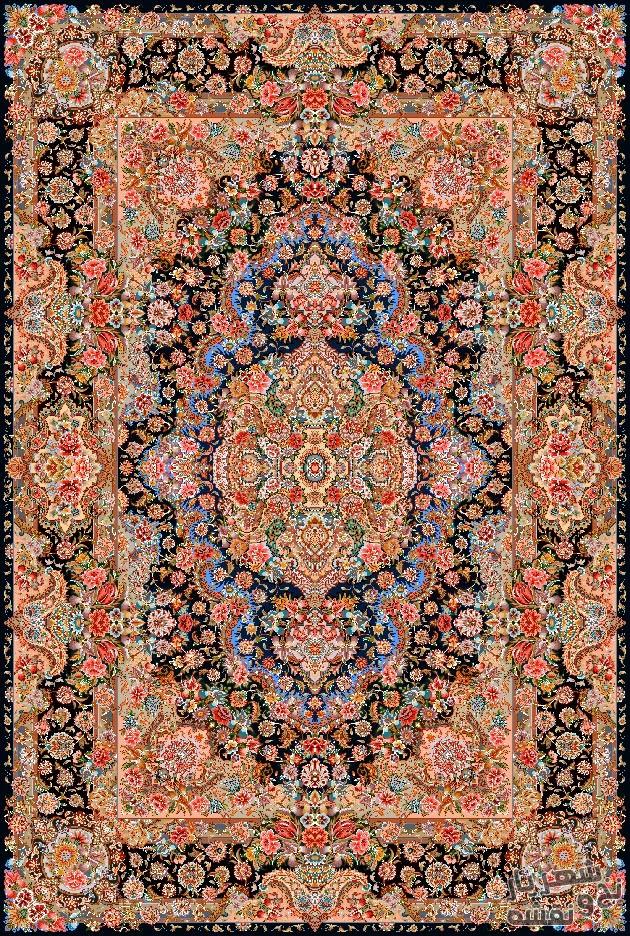 نخ و نقشه و لوازم بافت فرش و قالیچه زیر پایی کد ب53