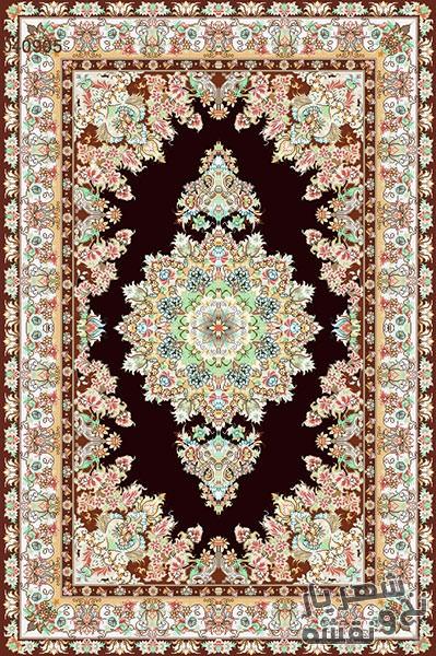 نخ و نقشه آماده بافت فرش و قالیچه زیرپایی کد 99812