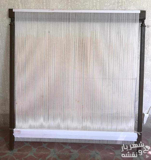 دار چله کشی شده قالی - دار جهت تابلو فرش